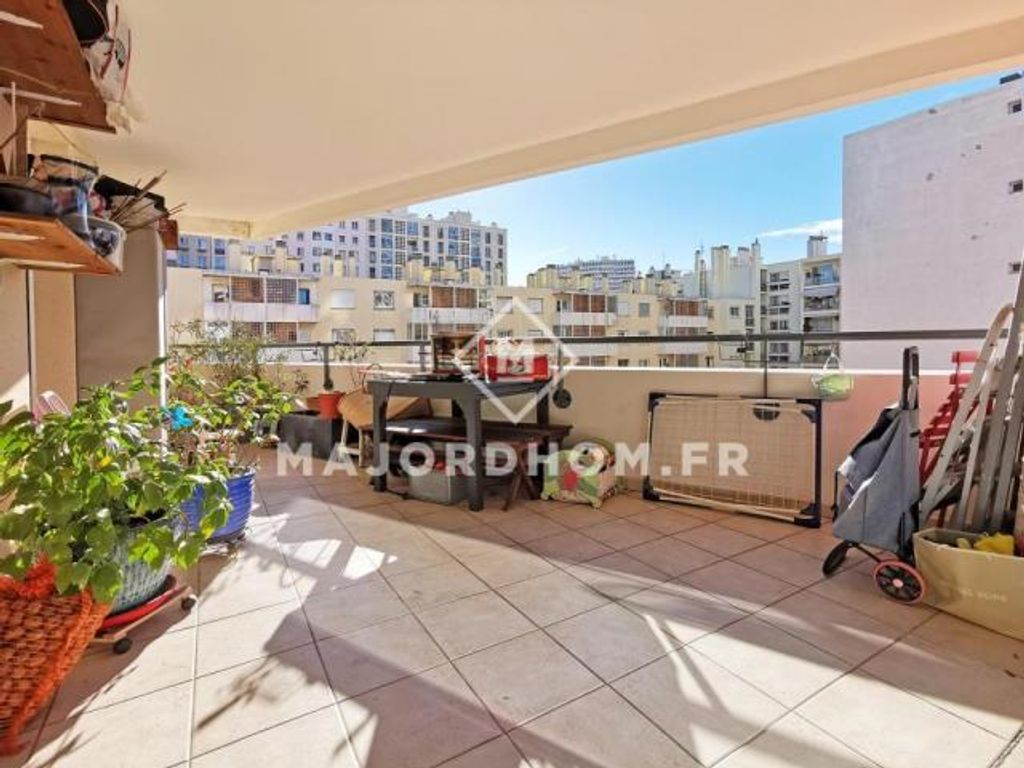 Achat appartement 4pièces 93m² - Marseille 7ème arrondissement