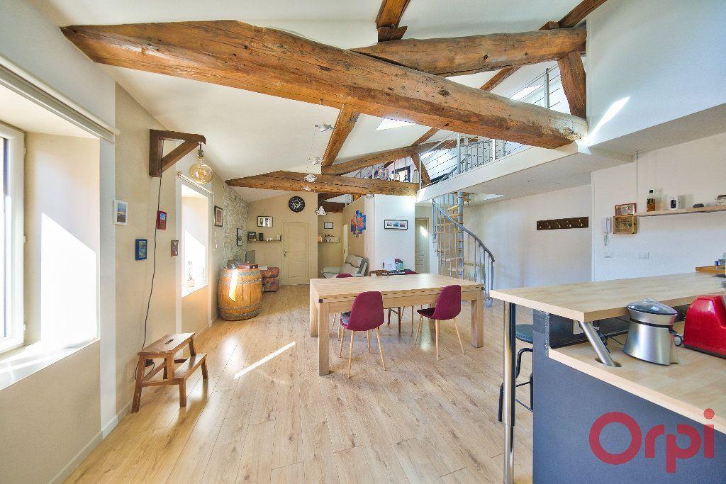 Achat duplex 3pièces 89m² - Saint-Laurent-sur-Saône