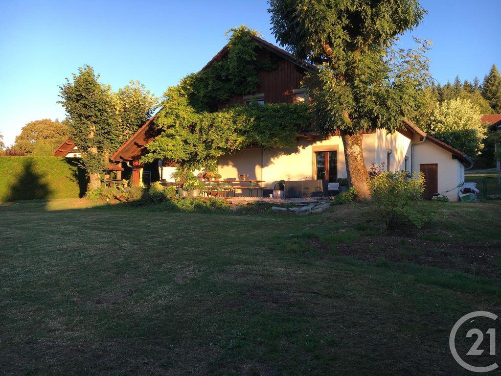 Achat maison 4chambres 137m² - Villers-le-Lac