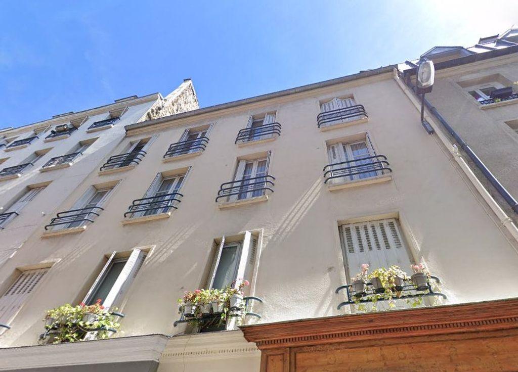 Achat studio 10m² - Paris 17ème arrondissement