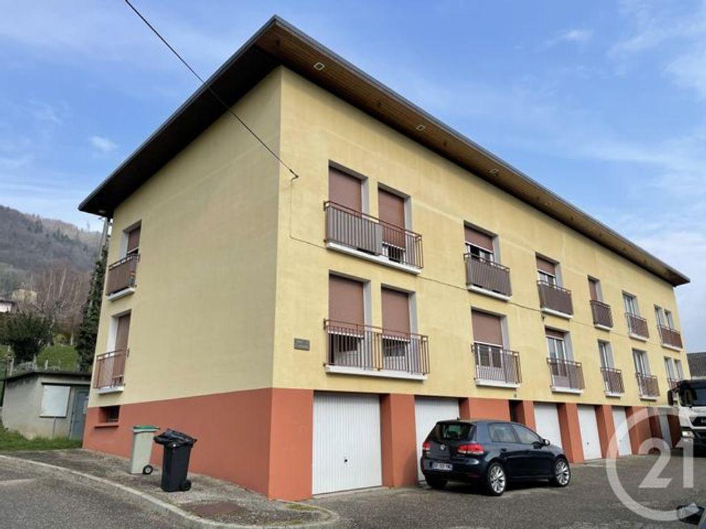 Achat appartement 4pièces 68m² - La Rochette