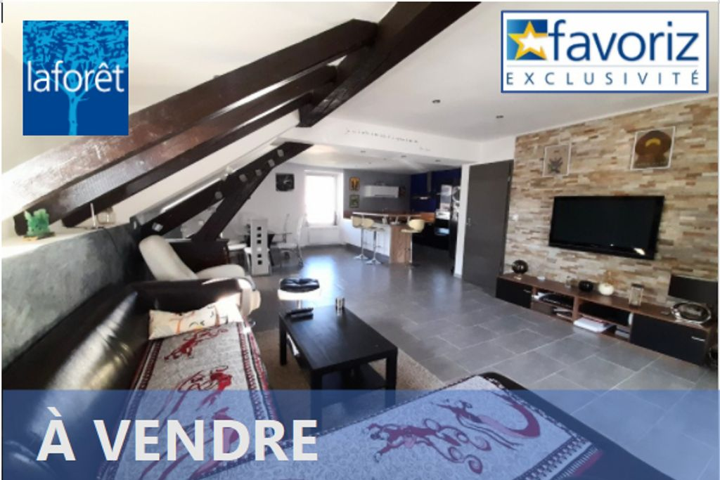 Achat duplex 5pièces 106m² - Hérimoncourt