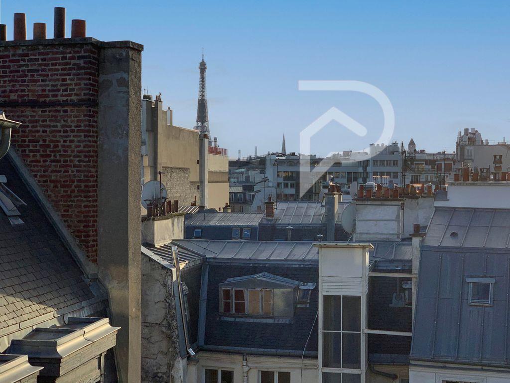 Achat studio 21m² - Paris 8ème arrondissement