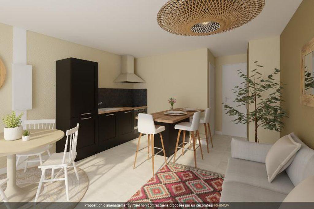 Achat appartement 2pièces 38m² - Saint-Étienne