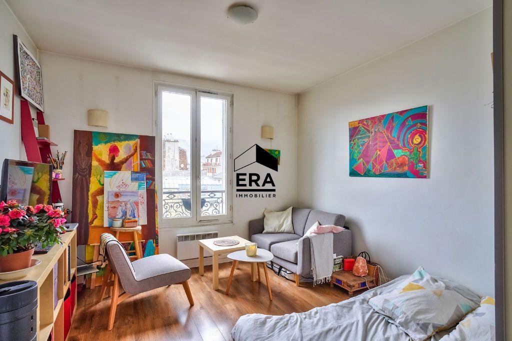 Achat appartement 2pièces 26m² - Paris 19ème arrondissement