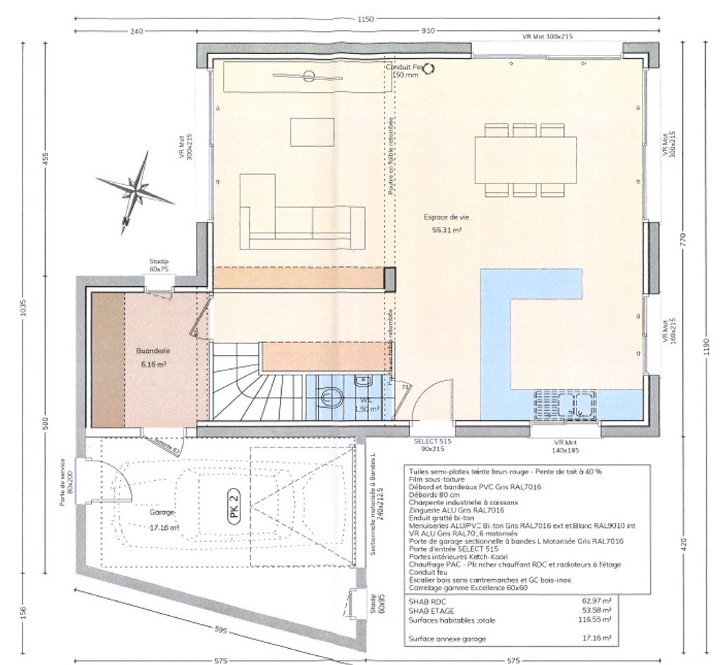 Achat maison 4chambres 120m² - Annecy