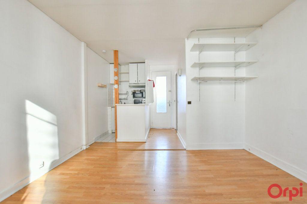 Achat studio 22m² - Paris 20ème arrondissement