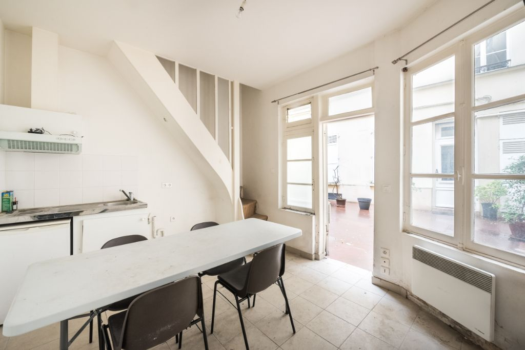 Achat duplex 2pièces 24m² - Paris 5ème arrondissement
