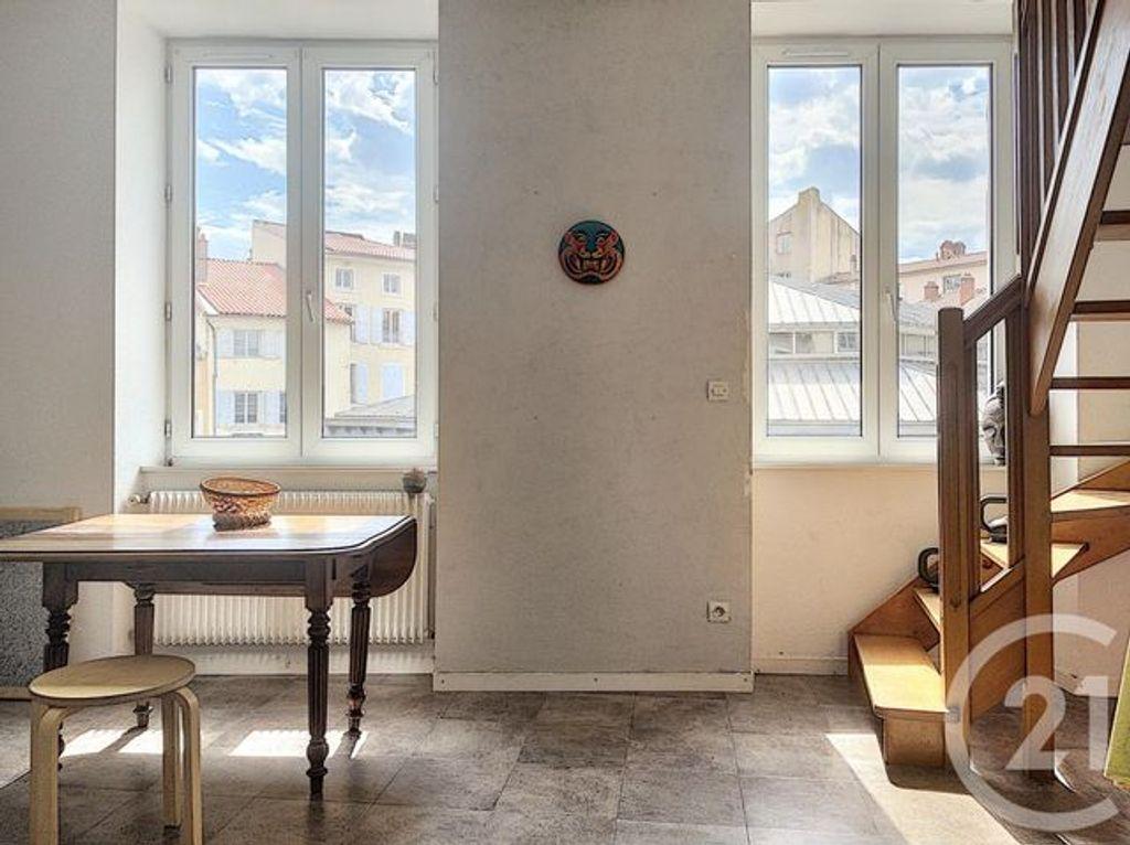 Achat duplex 3pièces 61m² - Le Puy-en-Velay