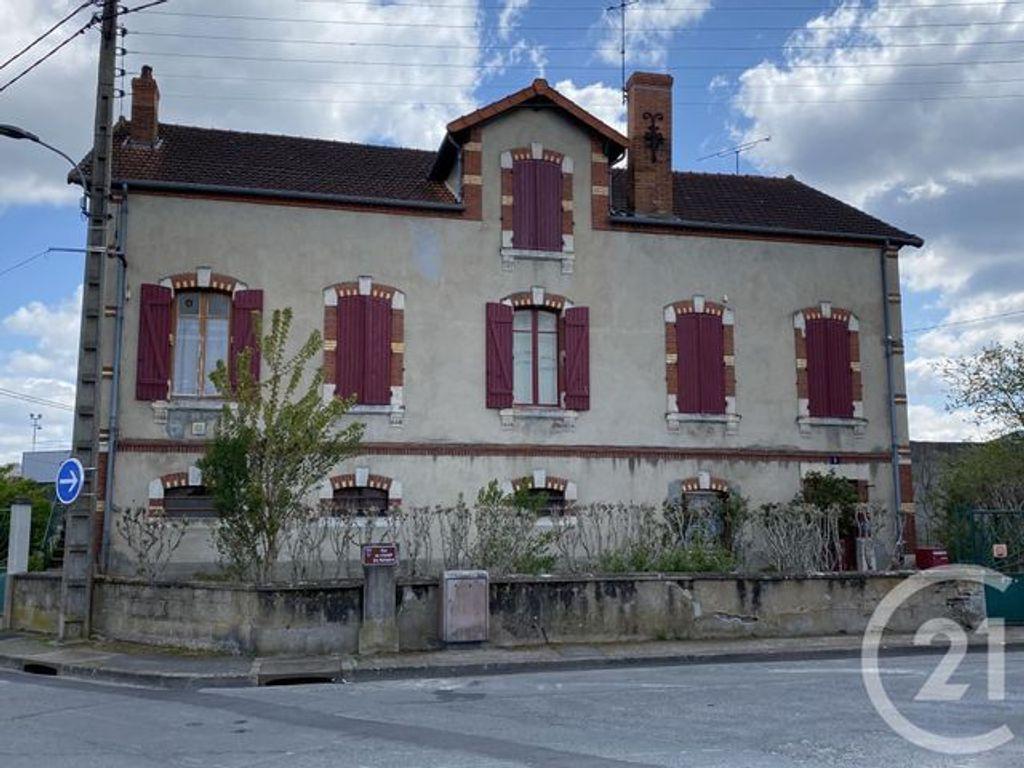 Achat maison 4chambres 120m² - Montluçon