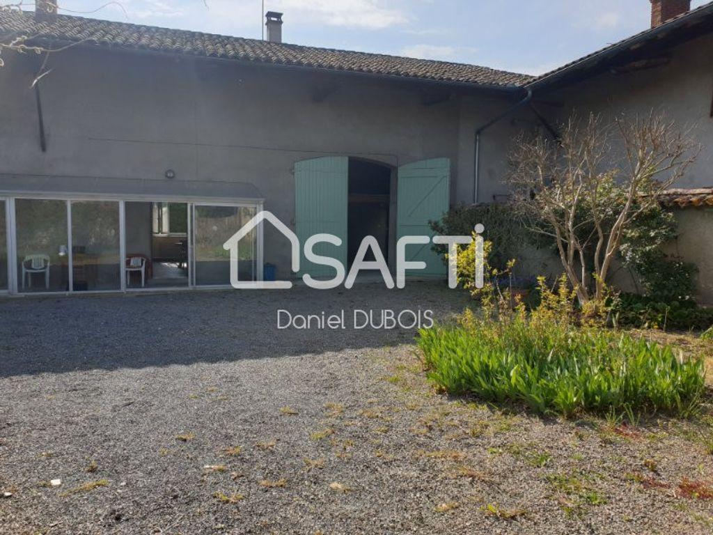 Achat maison 4chambres 130m² - Saint-Didier-sur-Chalaronne