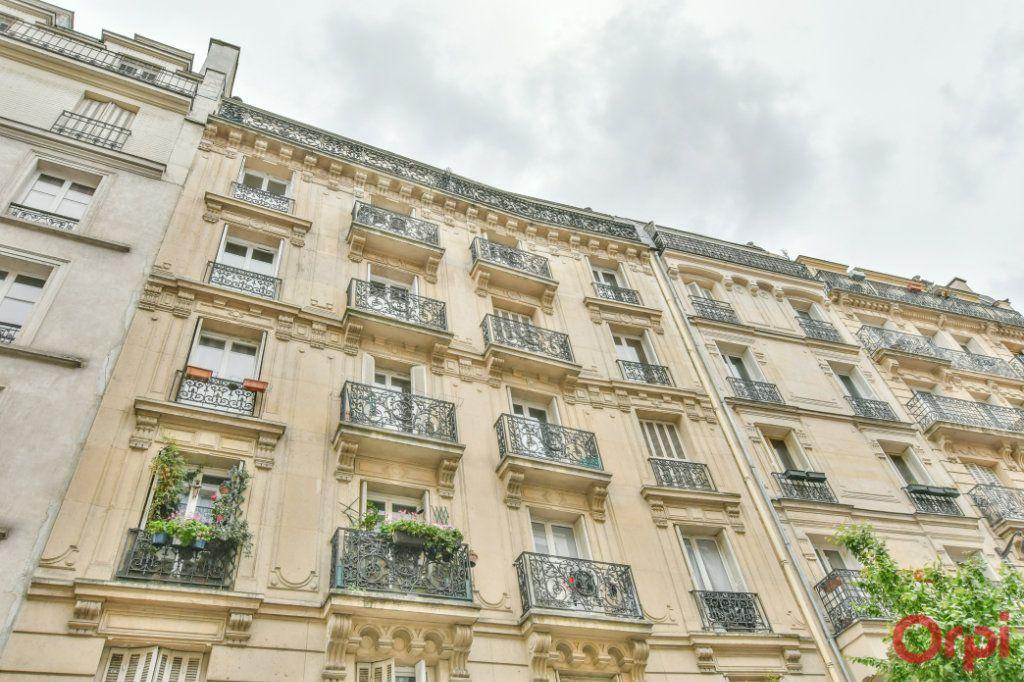 Achat studio 21m² - Paris 18ème arrondissement