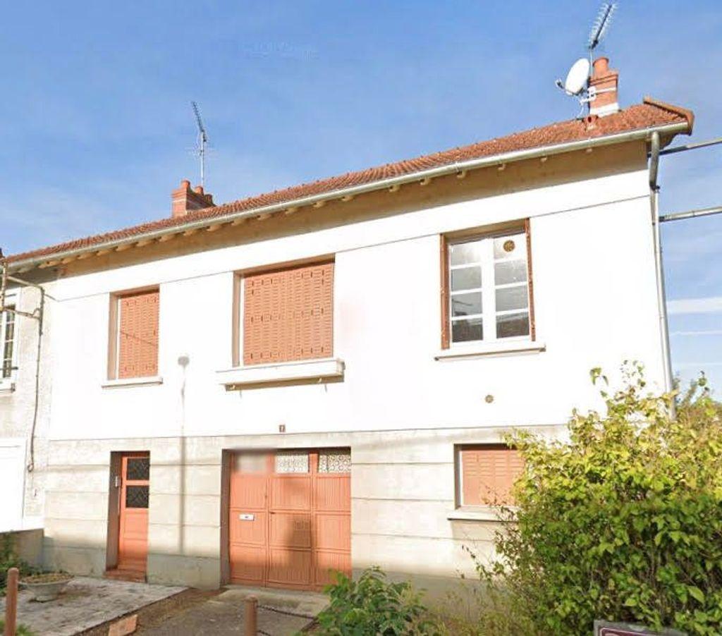 Achat maison 3chambres 72m² - Montluçon