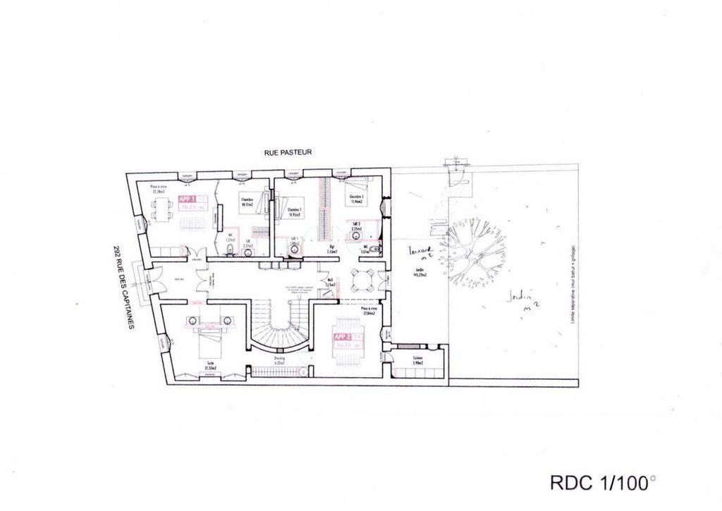 Achat appartement 4 pièce(s) Vauvert