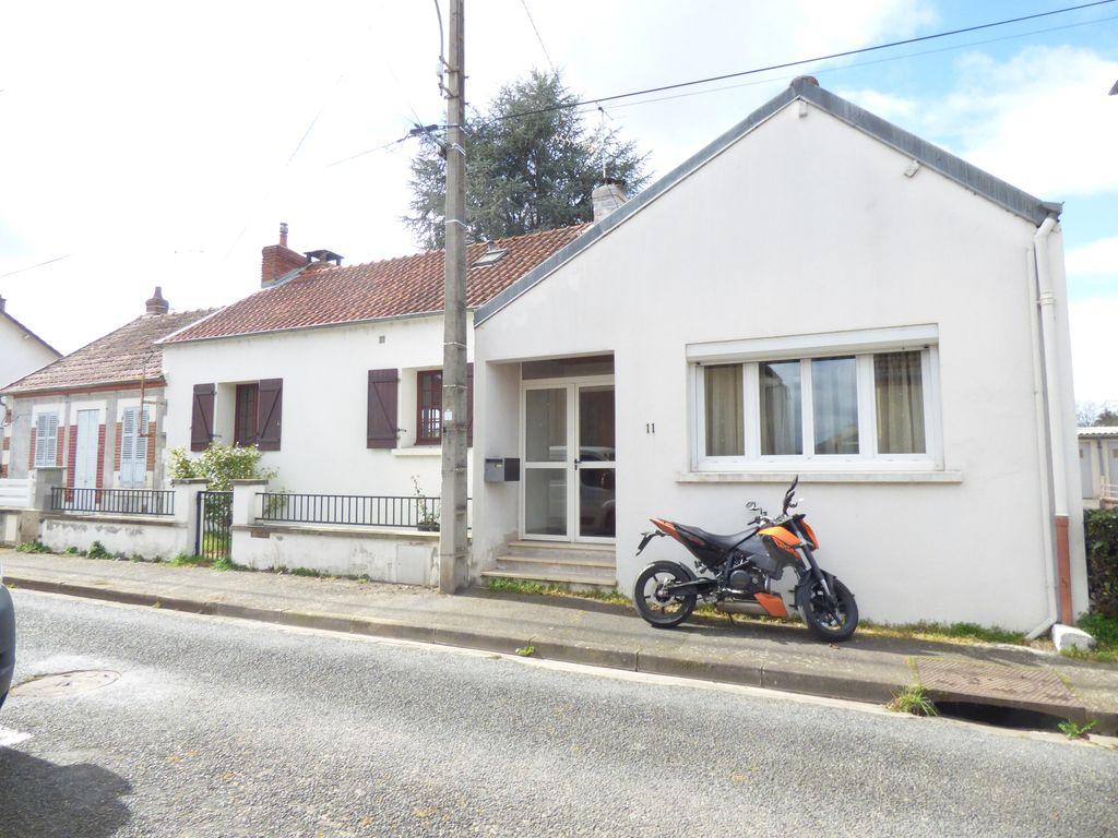 Achat maison 3chambres 155m² - Montluçon
