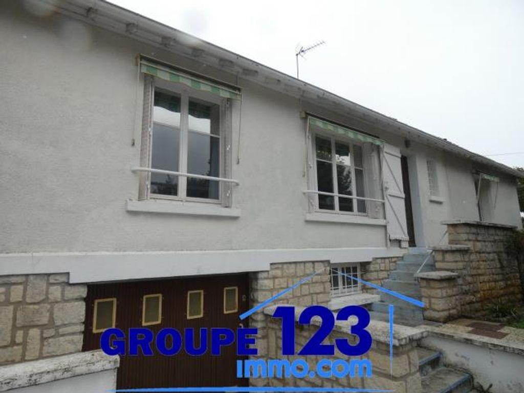 Achat maison 3chambres 106m² - Auxerre
