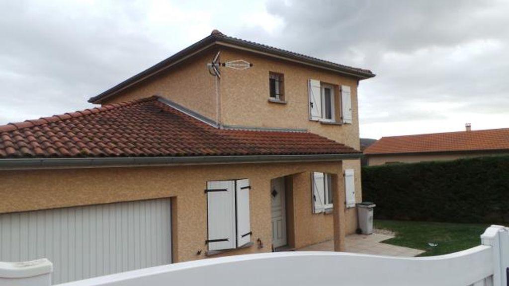 Achat maison 4chambres 102m² - Saint-Vulbas