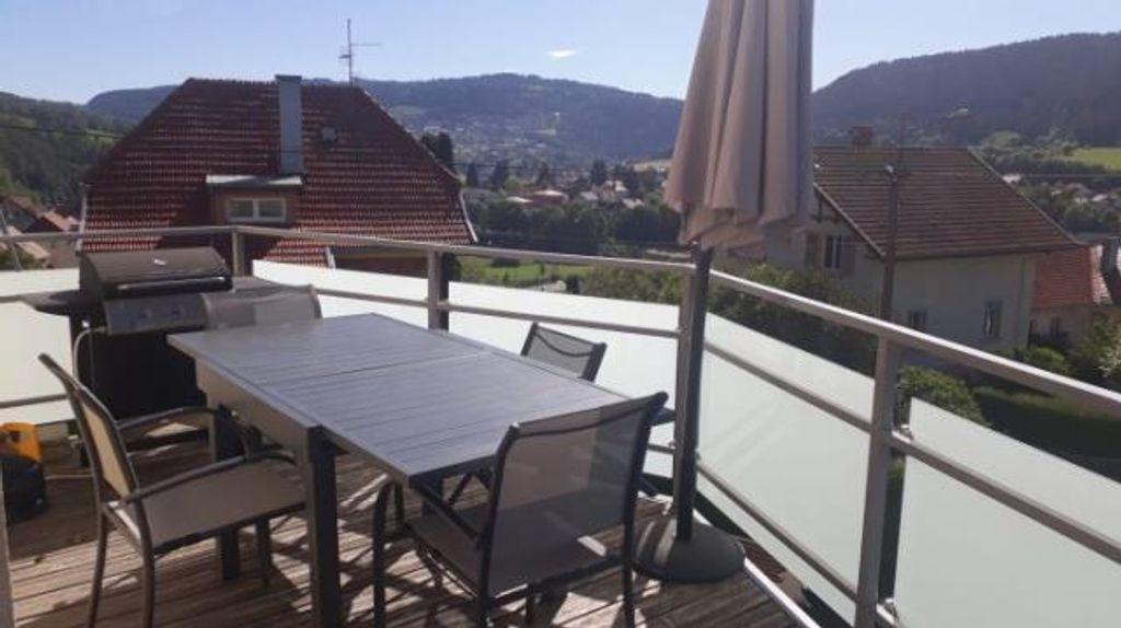 Achat appartement 3pièces 80m² - Villers-le-Lac